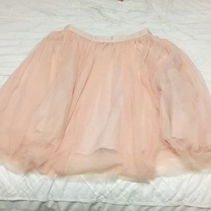 Eloquii size 20 lined tulle skirt.